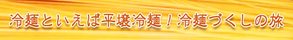 冷麺といえば平壌冷麺!冷麺づくしの旅