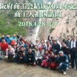 訪朝日記 大阪府商工会結成70周年記念 商工人祖国訪問