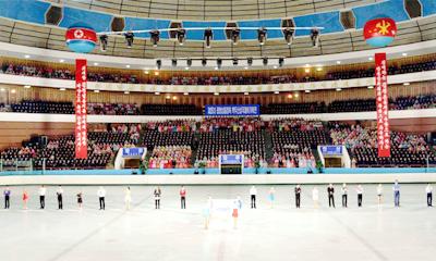 平壌でアイスショー開催 白頭山賞国際フィギュア祭典2019