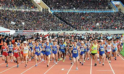 国際陸上連盟公認 万景台賞国際マラソン競技大会2019