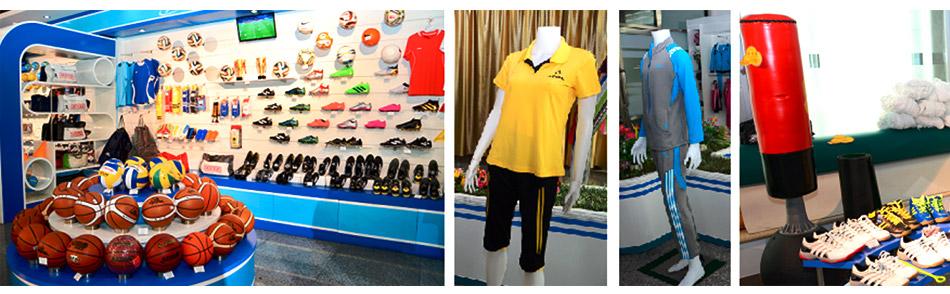平壌最大のスポーツ用品店で朝鮮の最新スポーツアイテムを見に行こう