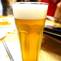 麦100パーセントのものは日本のビールよりも美味しくて驚きました。